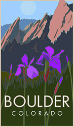Boulder Iris Poster Thumbnail