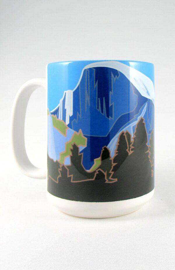 Half Dome mug front