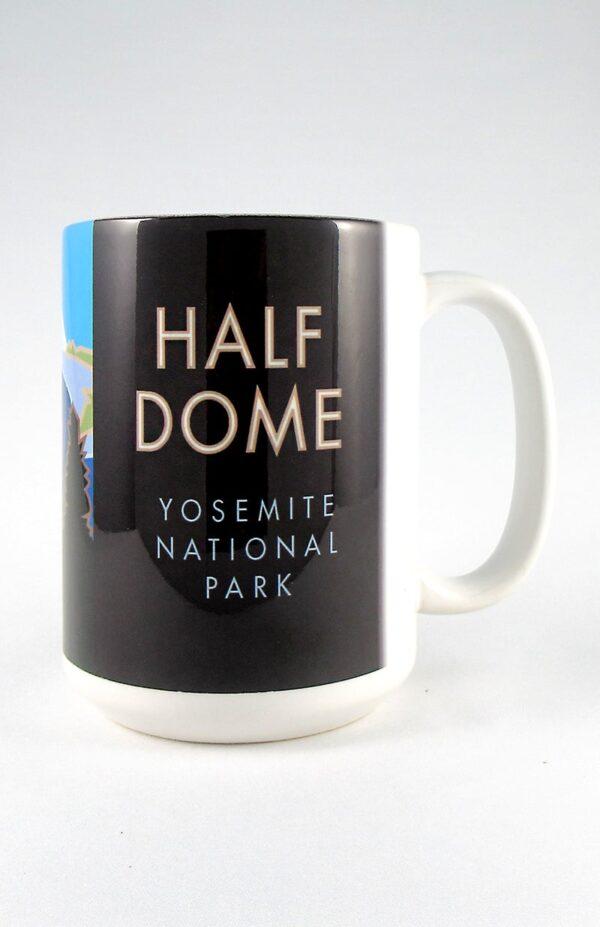 Half Dome mug back