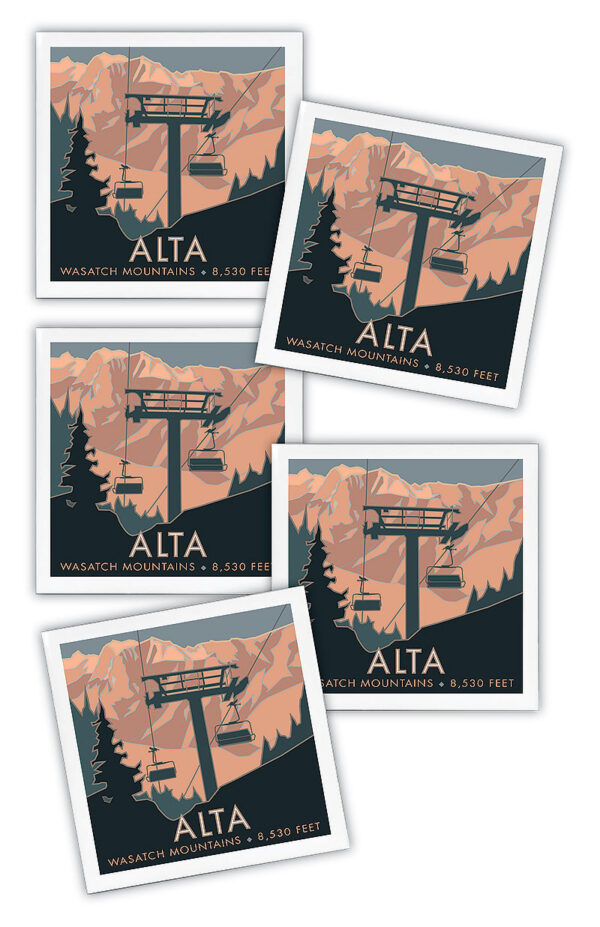 Alta, Wasatch Mountains coasters