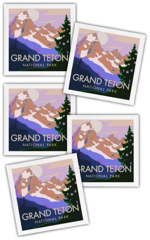 Grand Teton National Park coaster