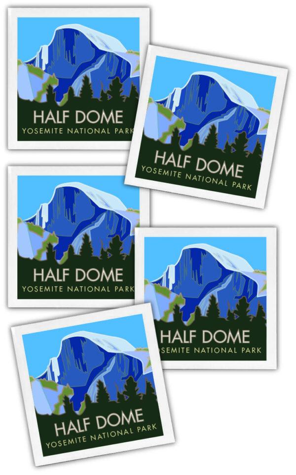 Half Dome Coasters