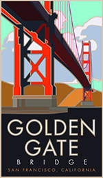Golden Gate Bridge poster thumbnail