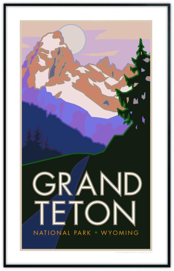 Grand Teton National Park poster