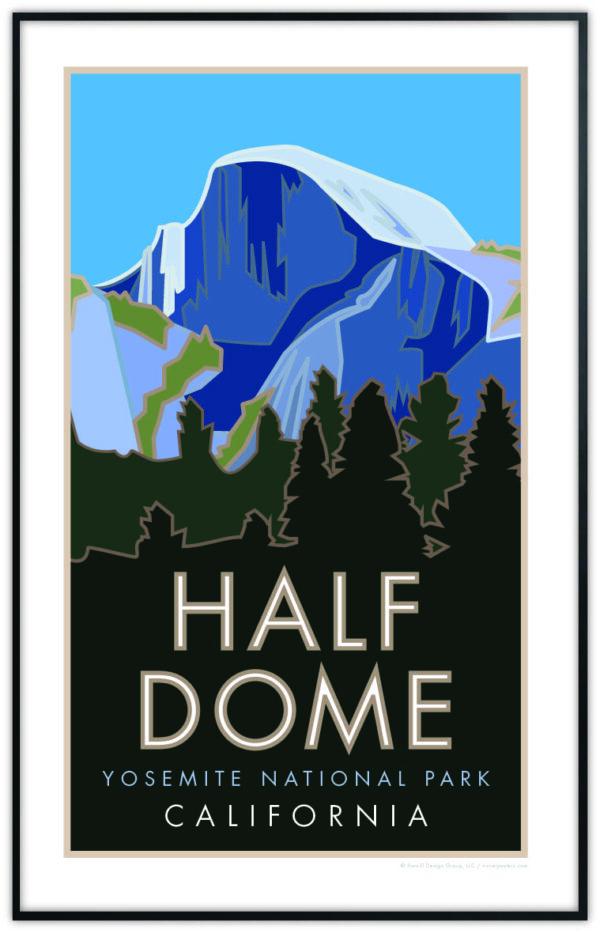 Half Dome Poster