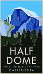 Half Dome Poster Thumbnail
