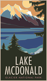 Lake McDonald Poster Thumbnail