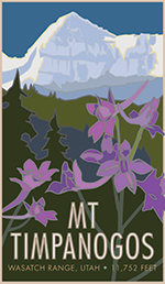 Mt Timpanogos Poster Thumbnail
