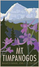Mt Timpanogos Poster Thumbnail