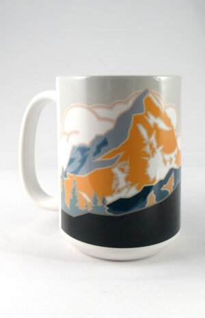 Colorado 14er Ceramic Mug