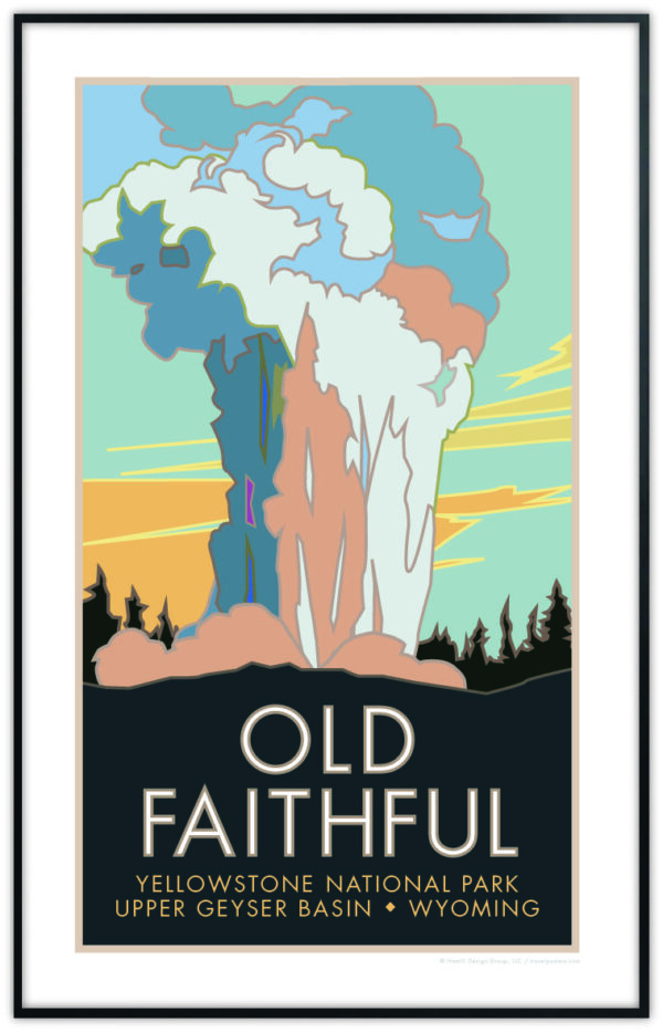 Old Faithful Poster
