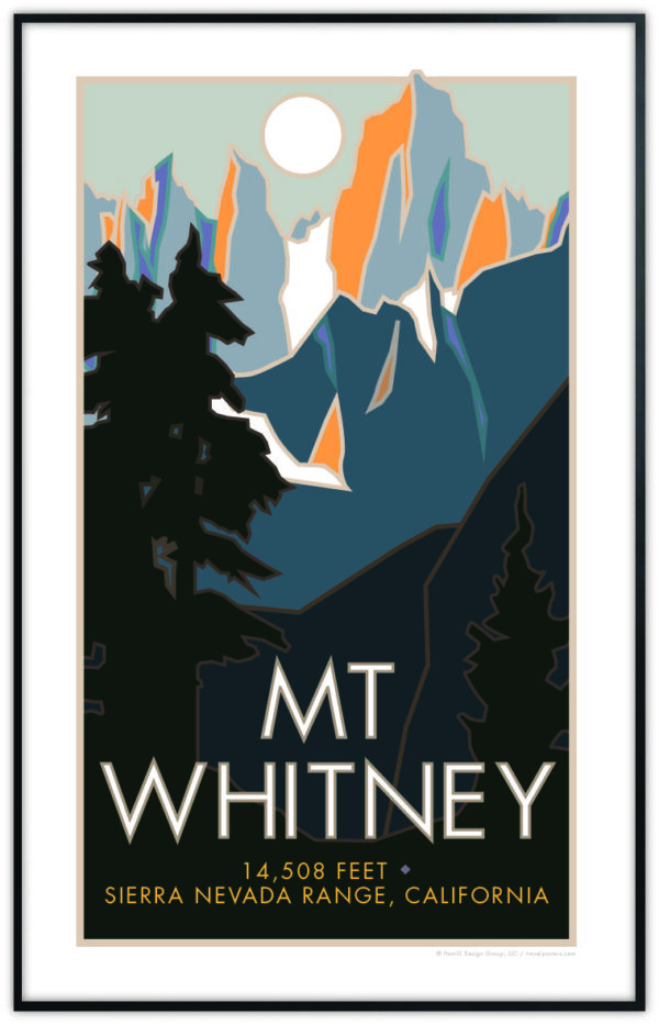 Mt Whitney Poster