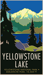 Yellowstone Lake poster thumbnail