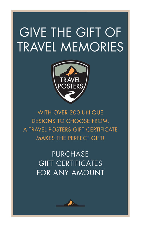 TravelPosters.com GIFT CARD